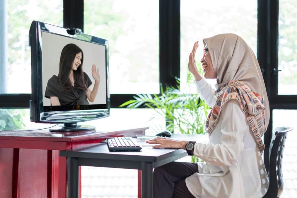 Online interaction 2